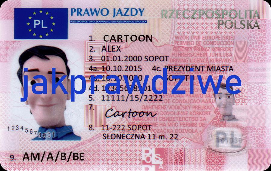 Polskie prawo jazdy kolekcjonerskie